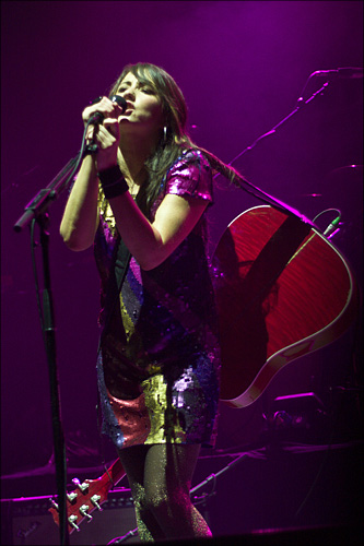 KT Tunstall in concert at the Roundhouse.