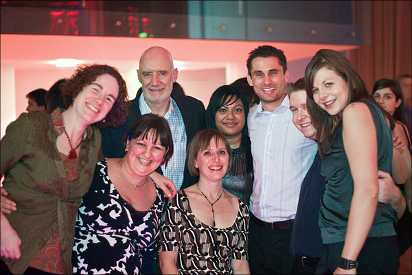 Jocasta, Susan, Steve, Leanne, May, Craig, Moi and Liz at the LS IS Christmas Party.