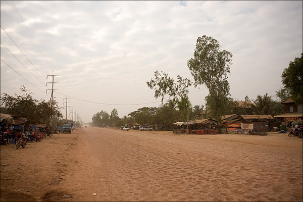 The road to Siem Reap.