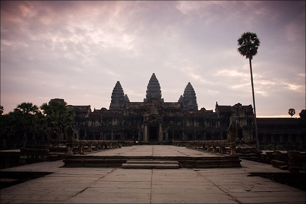 Early morning, Angkor Wat.