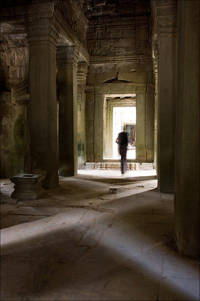 Inside Preah Khan.