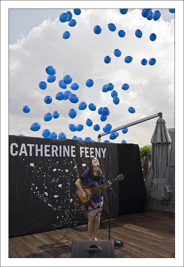 Balloons for Mr Blue.