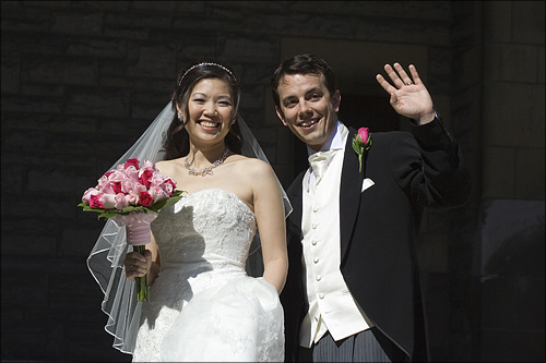 Mr and Mrs Walsh.