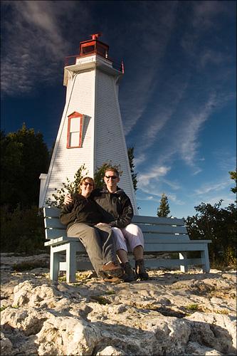 The Big Tub Lighthouse.