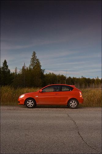 Our little Hyundai.