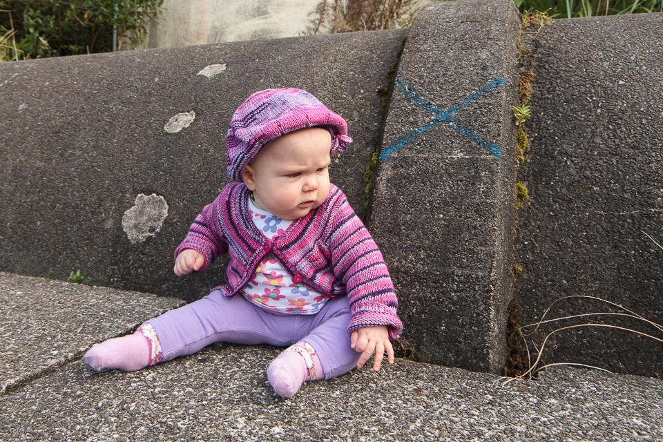 Modelling Nana's knitting