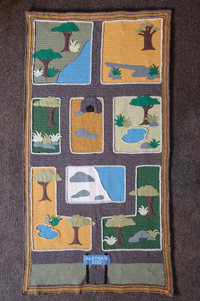 Zoo playmat all complete