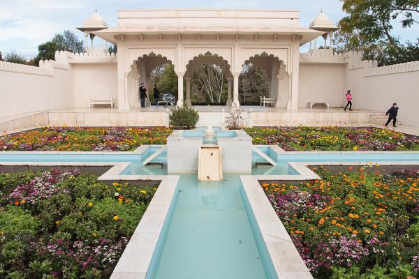 Indian Garden at the Hamilton Gardens