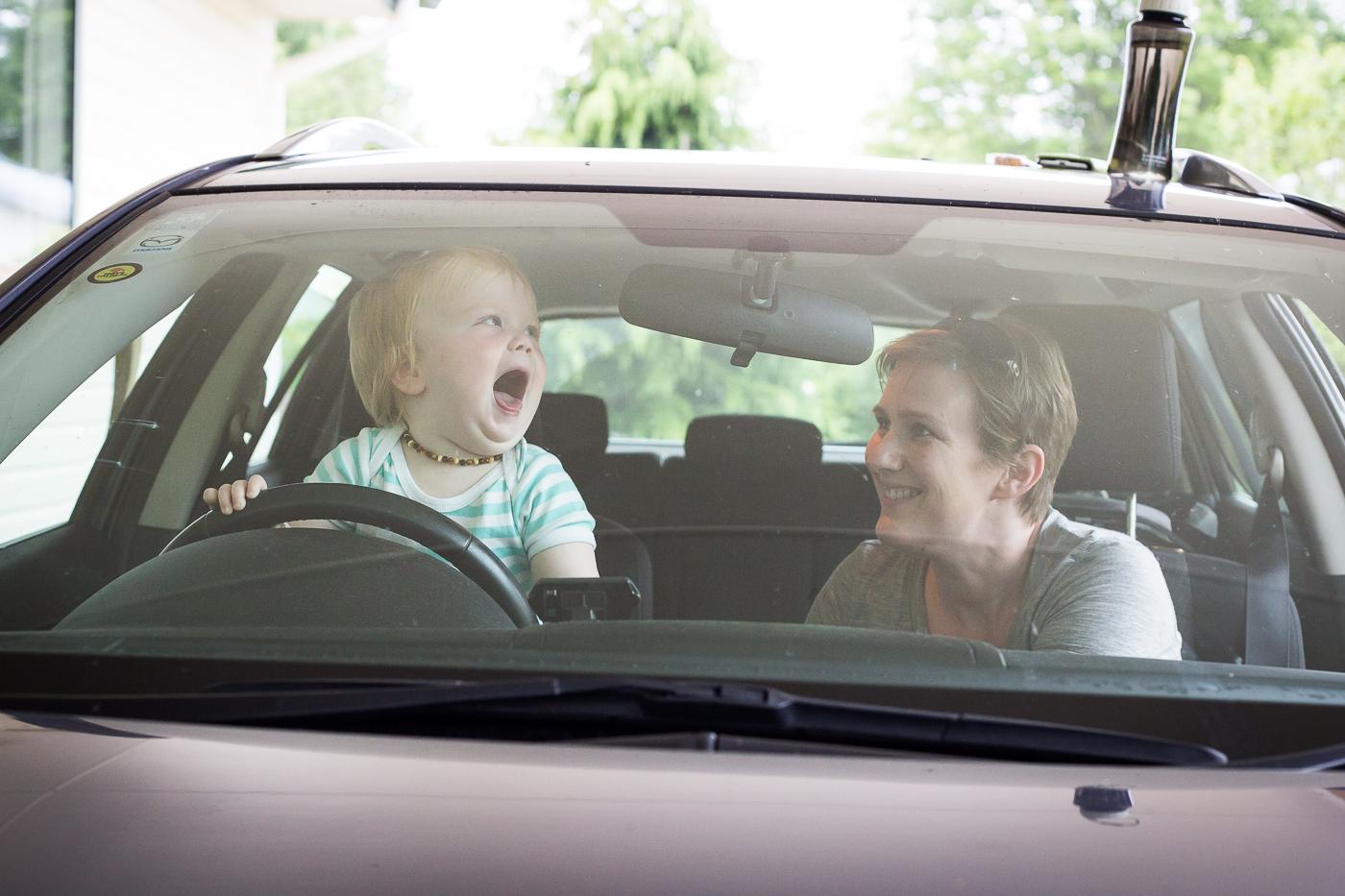 Alayna's turn to drive