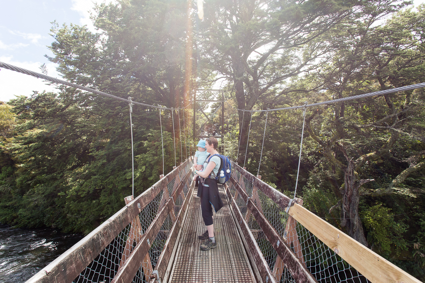 A summer holiday – Turangi