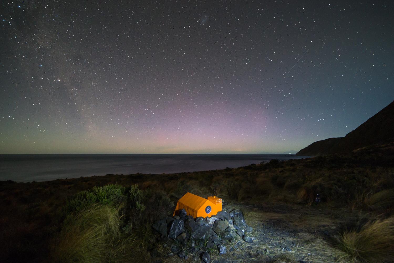 Chasing the Aurora Australis