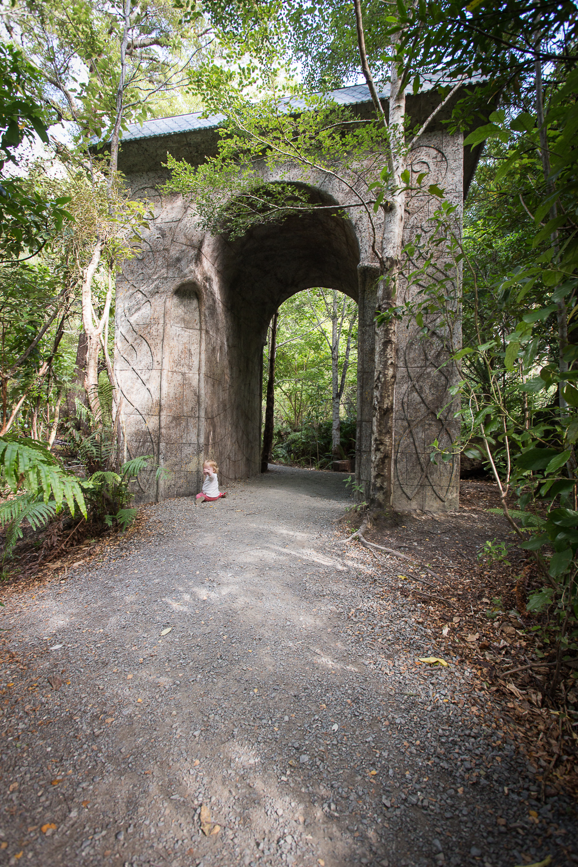 The new Kaitoke arch