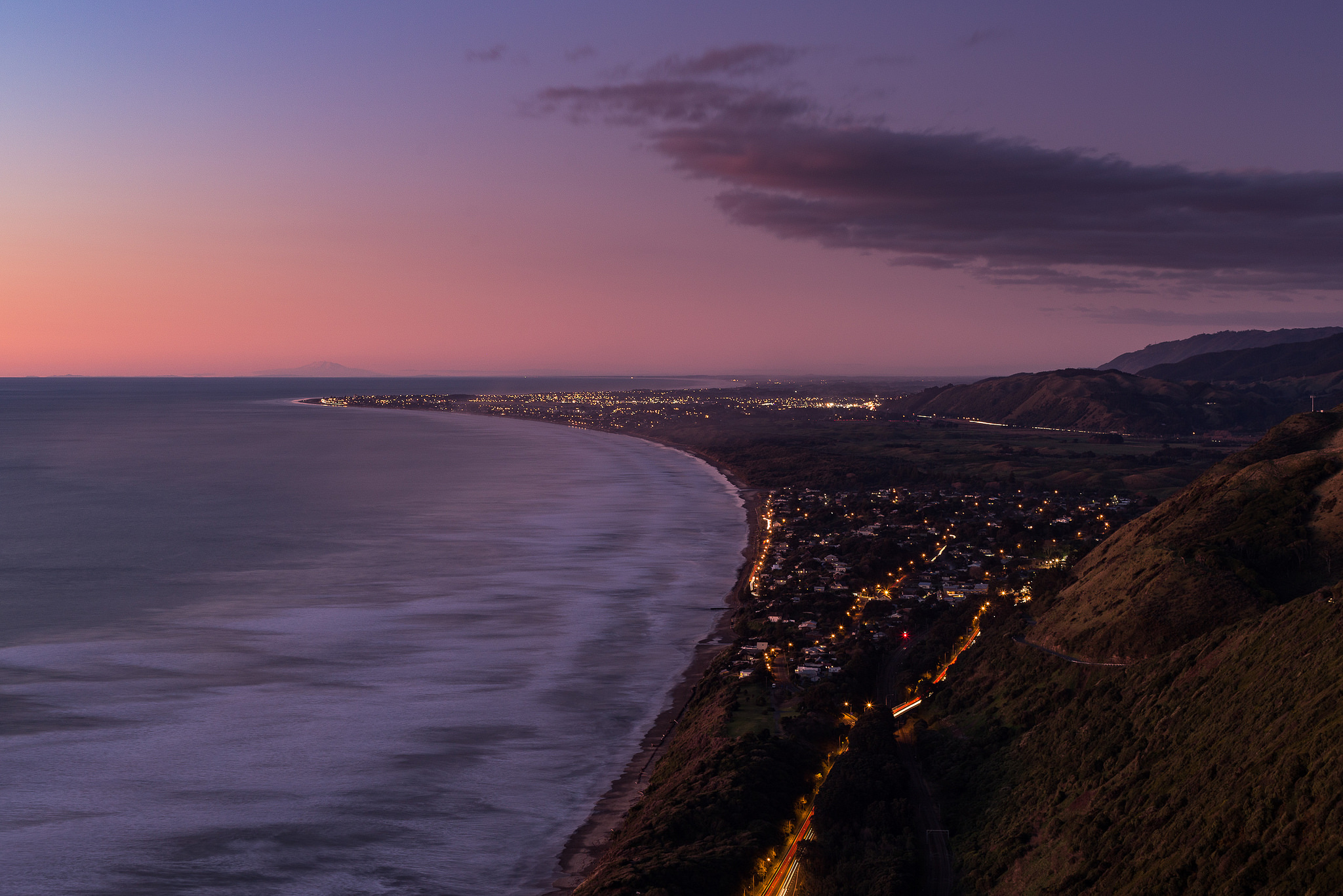 Dusk on the Kapiti Coast