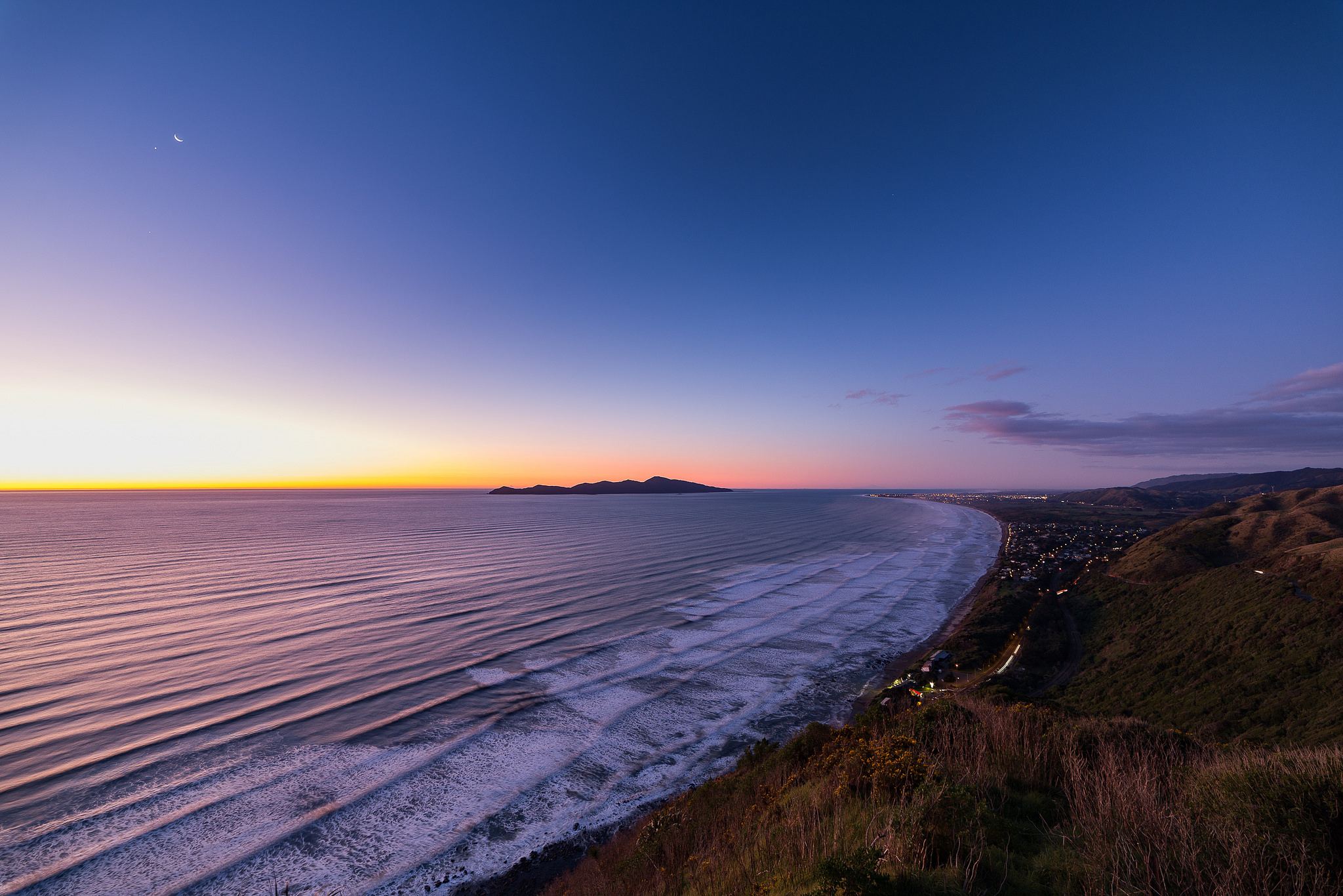 Kapiti Coast evening
