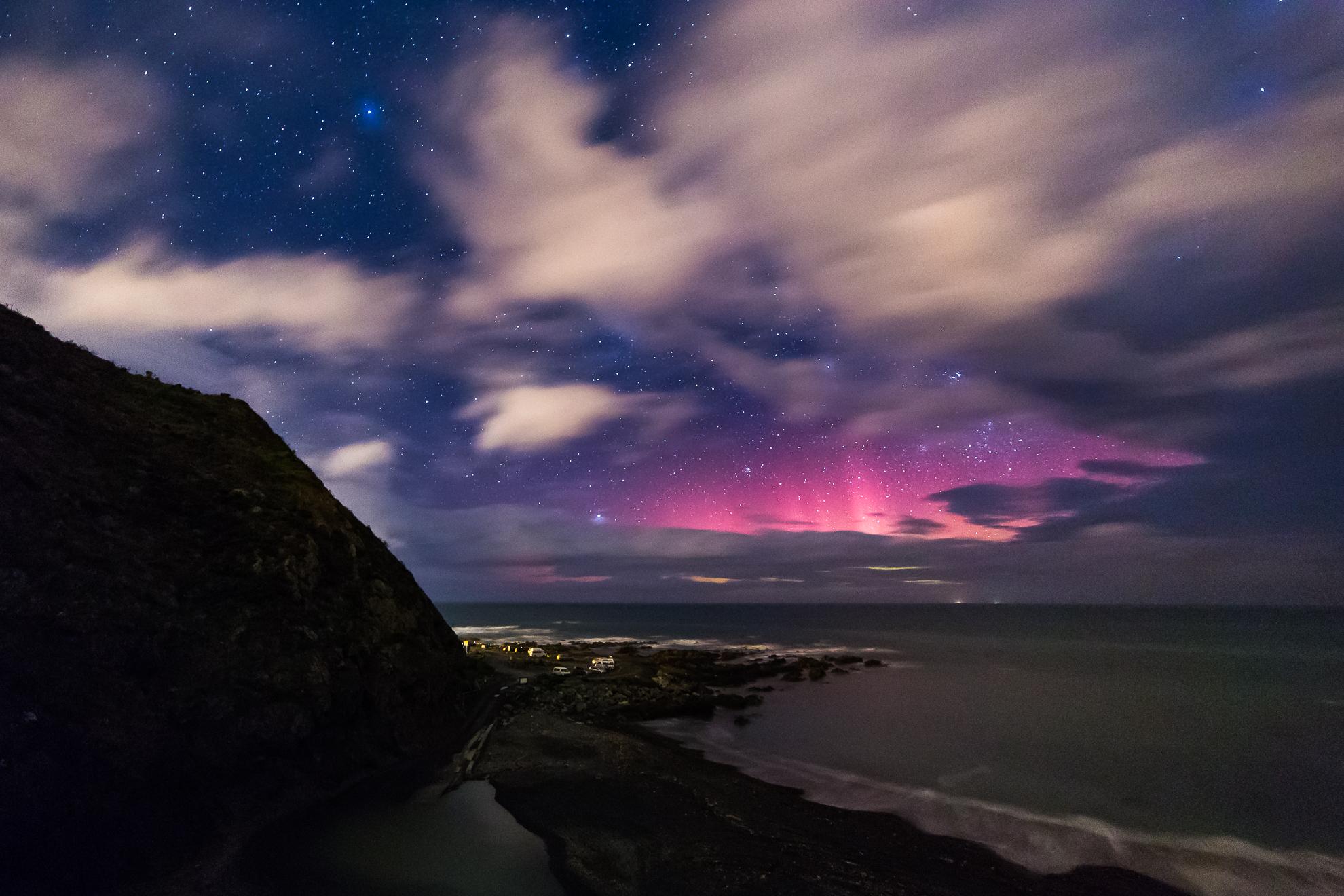 Red Rocks Aurora