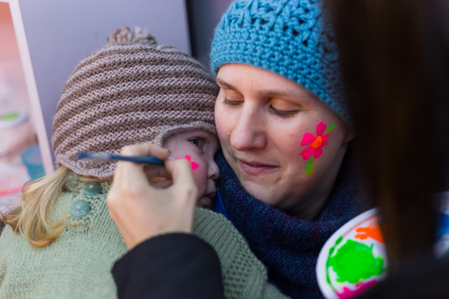 First facepainting