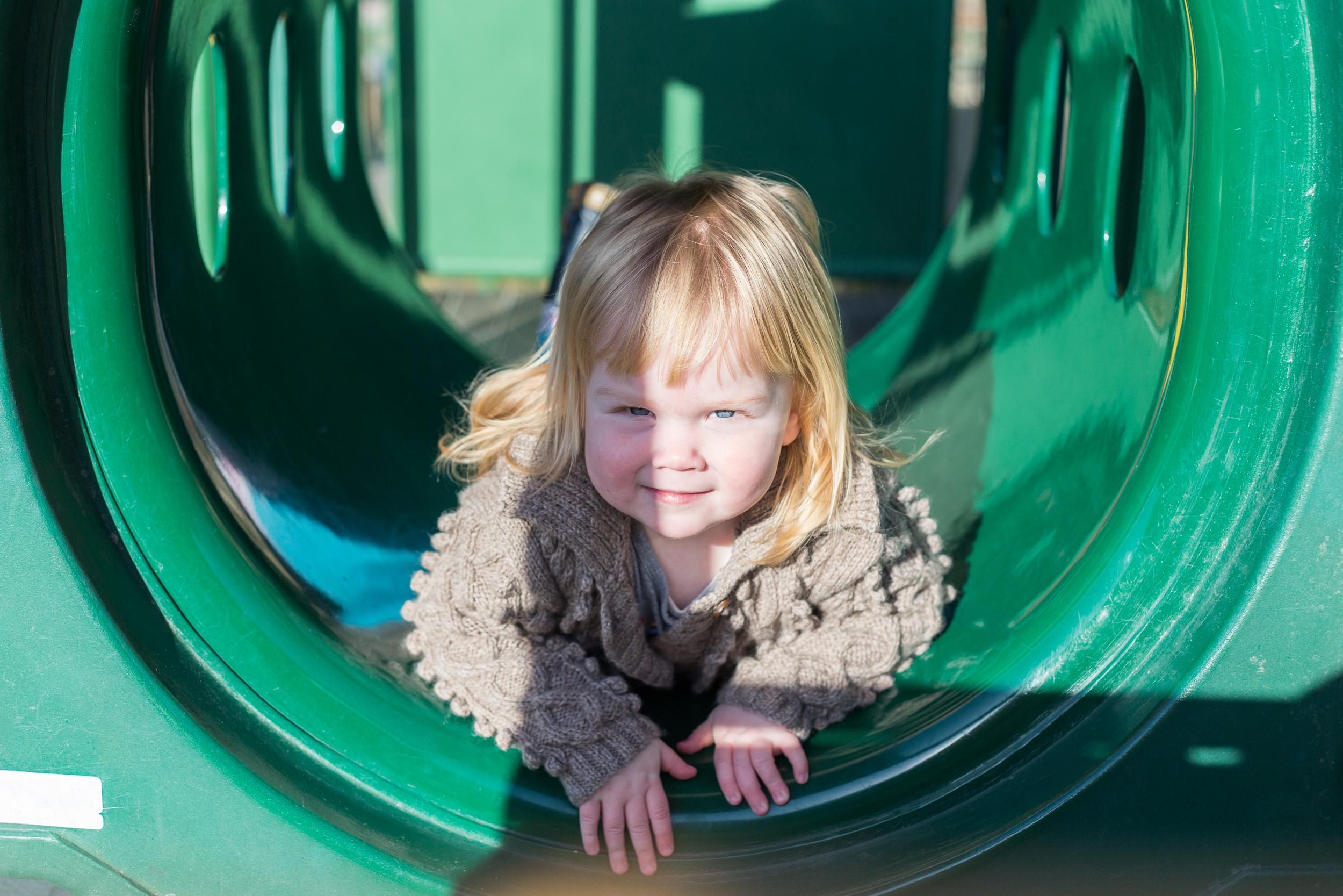 Playground portrait