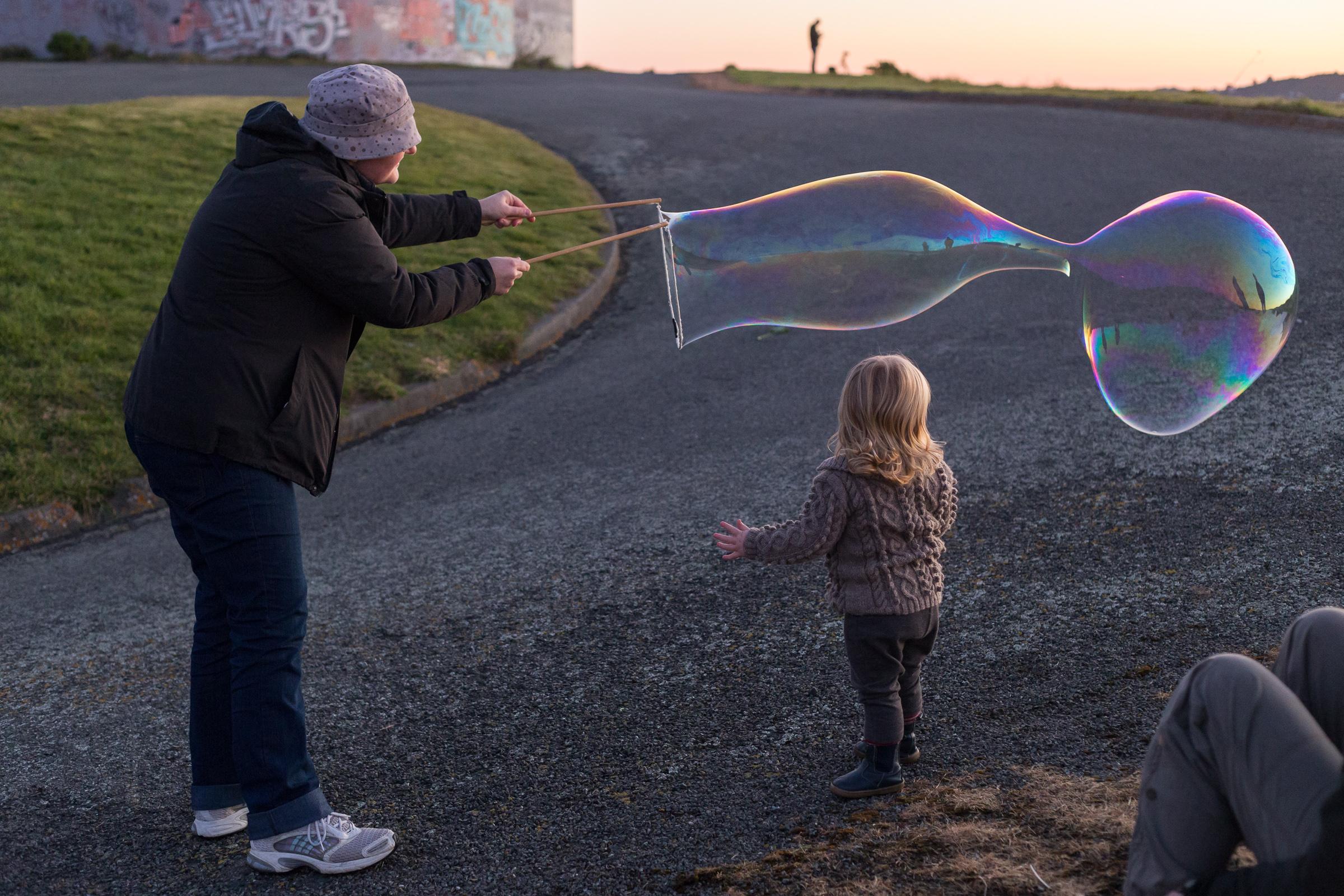 Giant bubble!