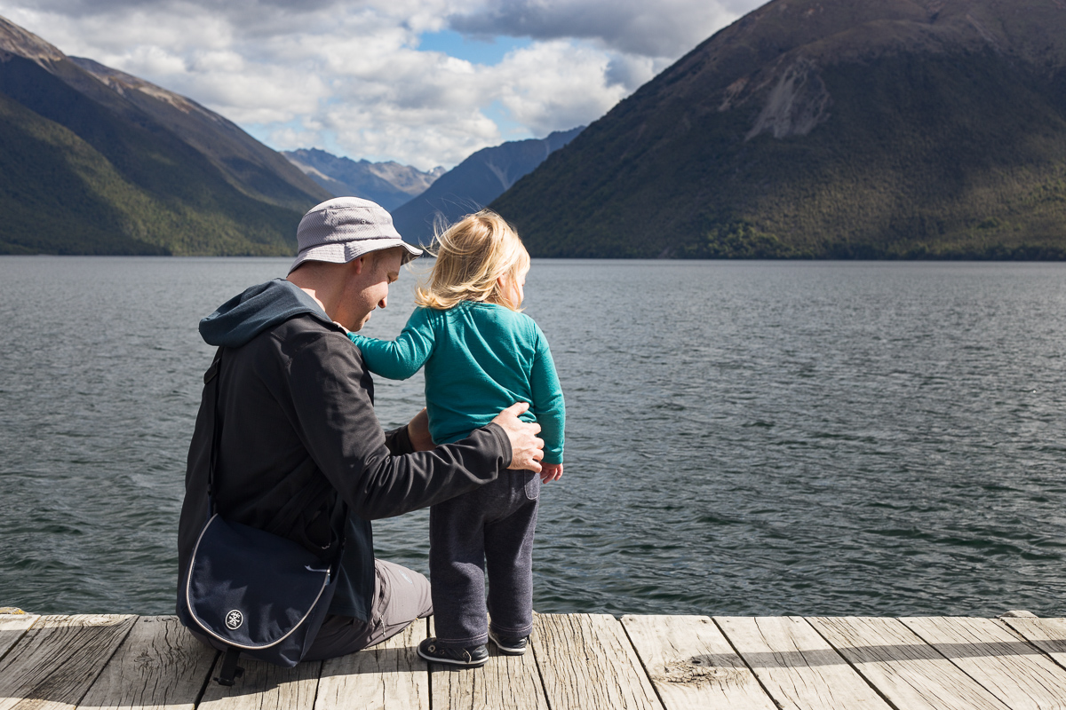St Arnaud, Lake Rotoiti, Mount Robert and a fire alarm