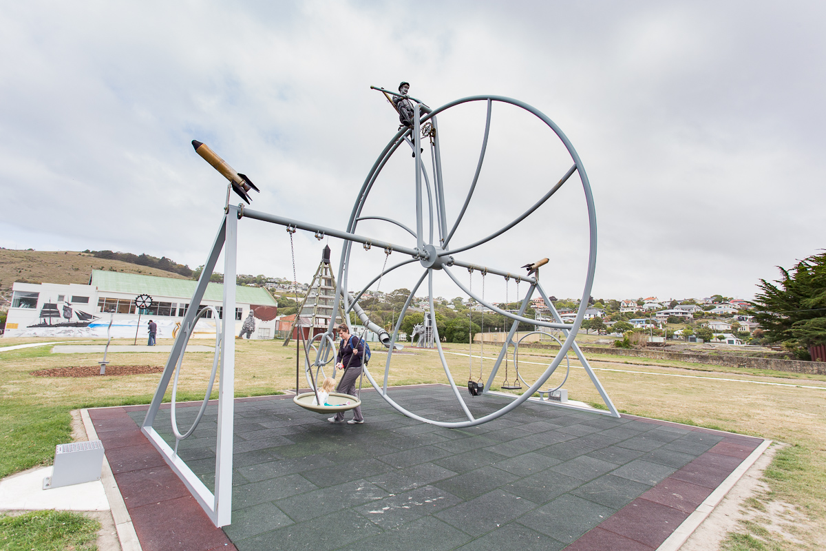 Steampunk playground