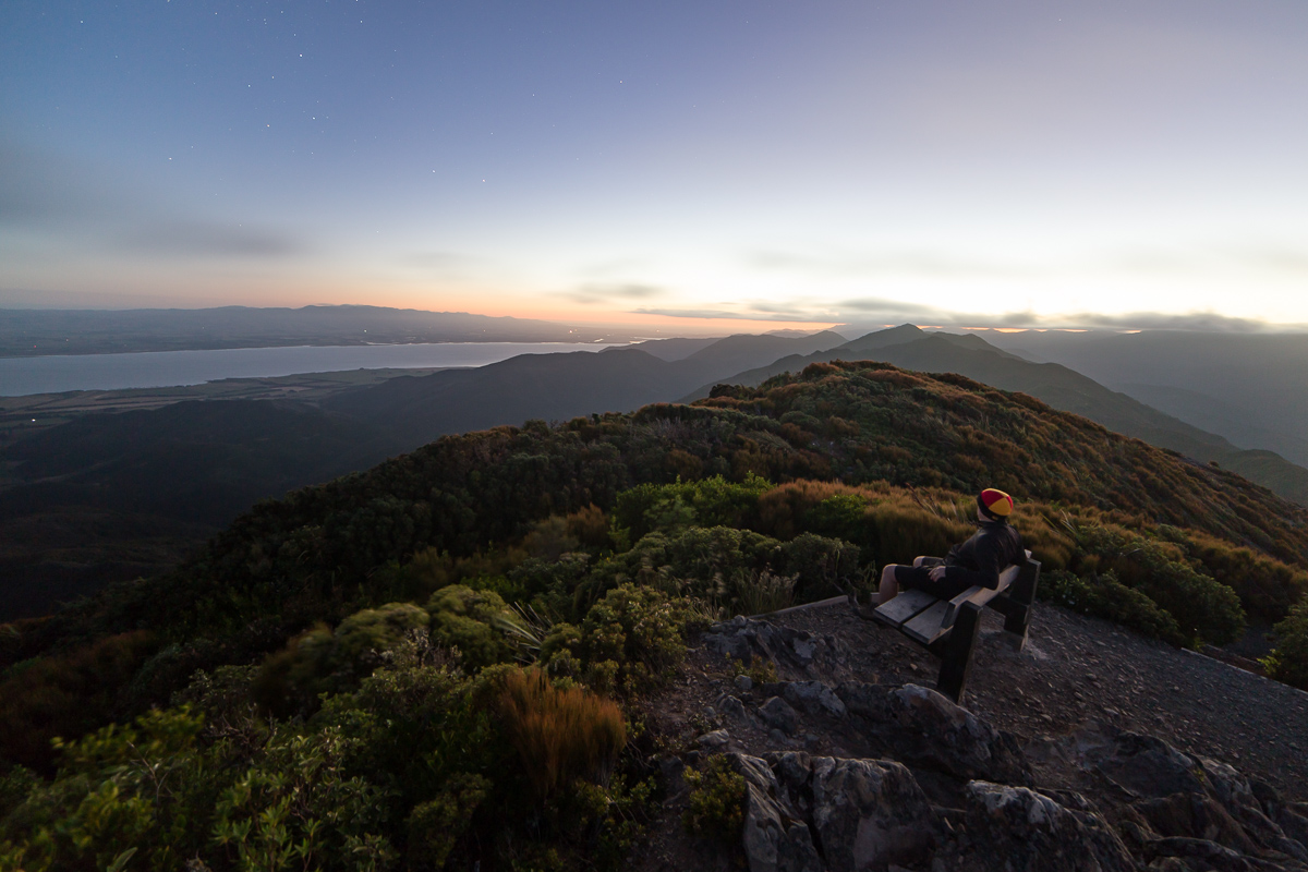 Looking towards Lake Wairarapa