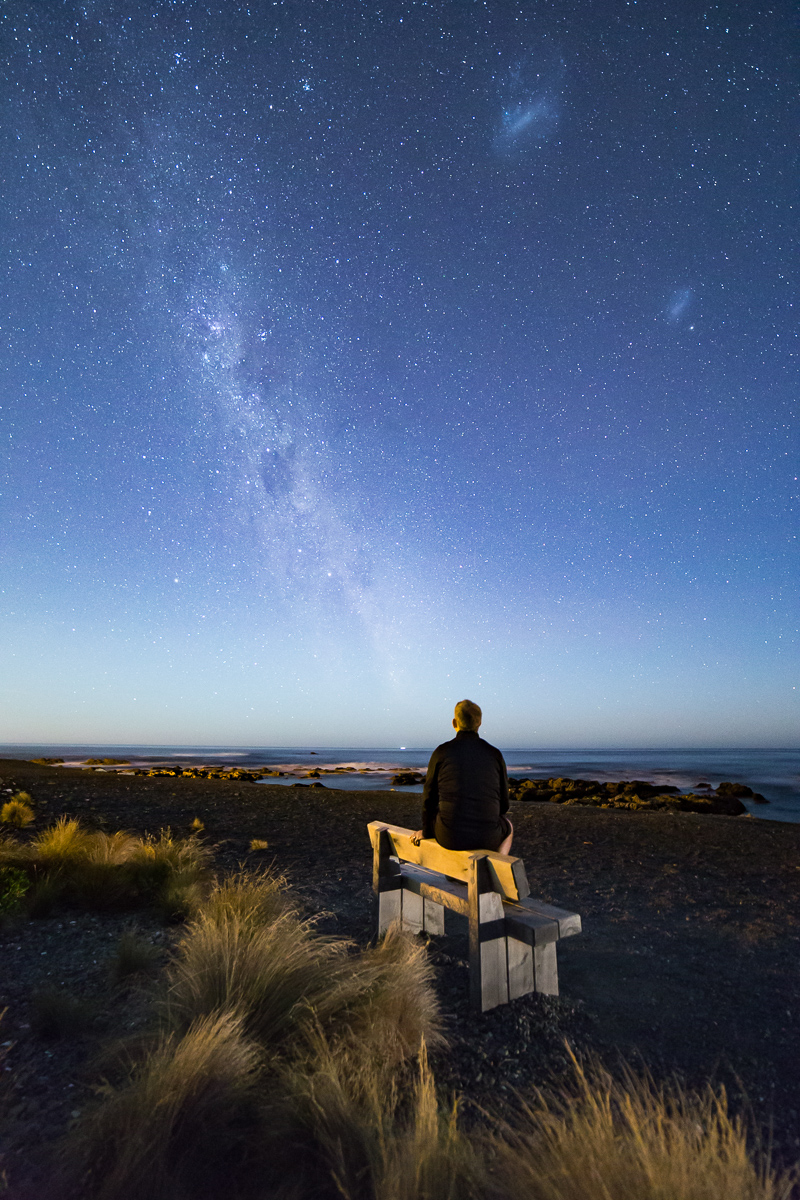 Contemplating the milky way