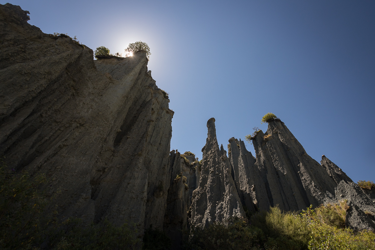 Summer days part 2: The Putangirua Pinnacles