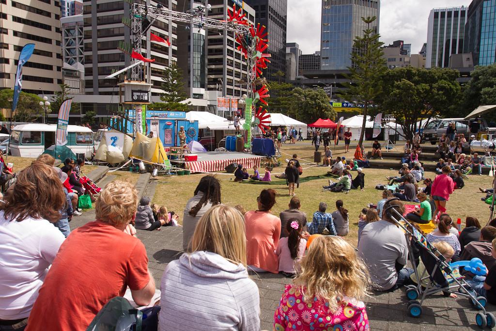 Circus in the sun