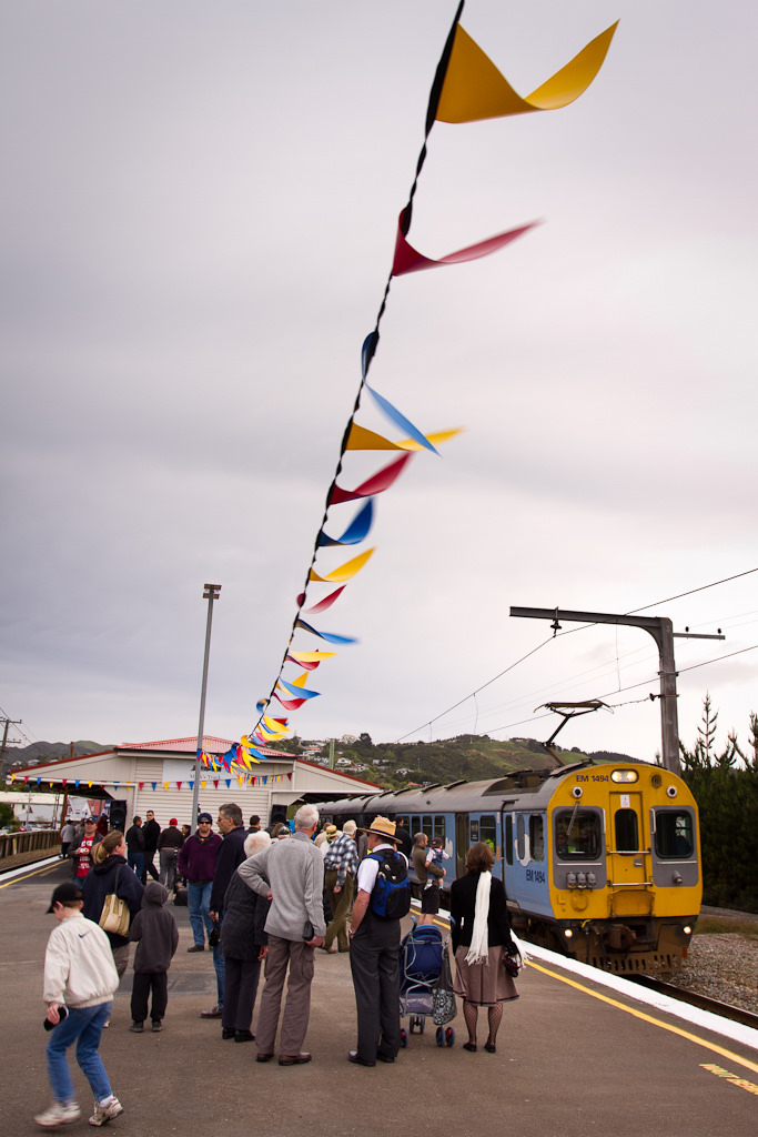 Plimmerton Station re-opening