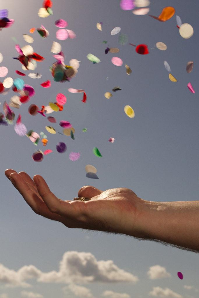 Photo5: Confetti in Motion