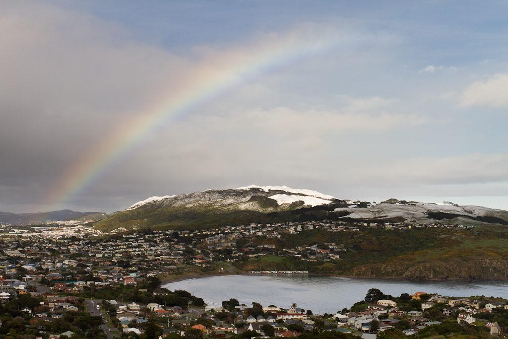 Rainbow over Titahi Bay