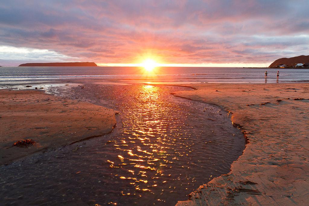 Sunset from Plimmerton