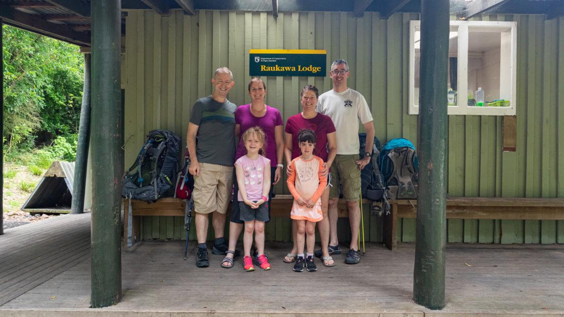Overnight at Raukawa Hut