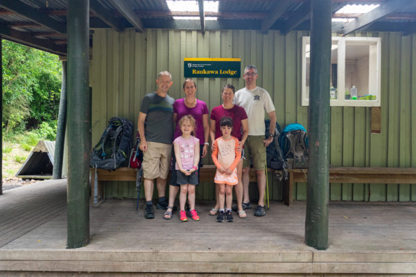 Overnight at Raukawa Hut