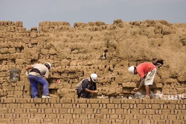 Construction at Chan Chan