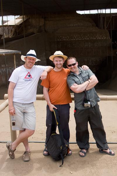 A lads photo: Sean, Brendon and Daniel