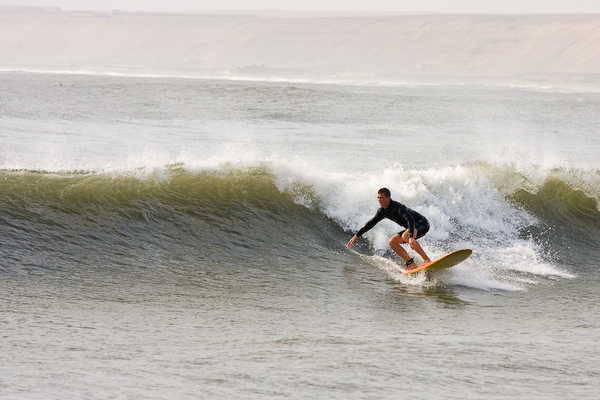 Surfing at Huanchaco
