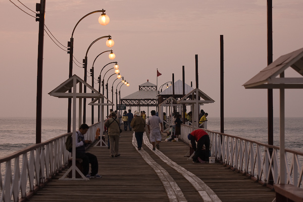 Evening on the pier