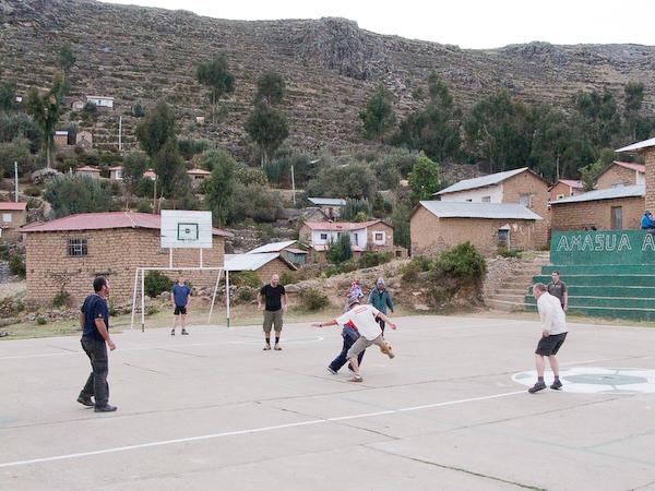 Football at altitude