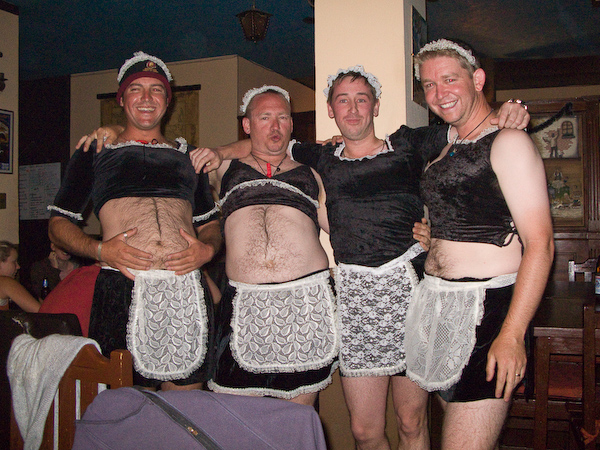 The French Maid-Men
