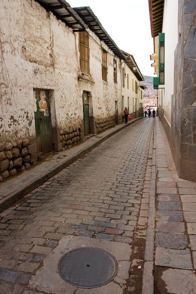 A random street in Cuzco