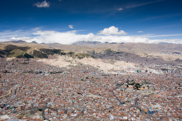 A view over La Paz