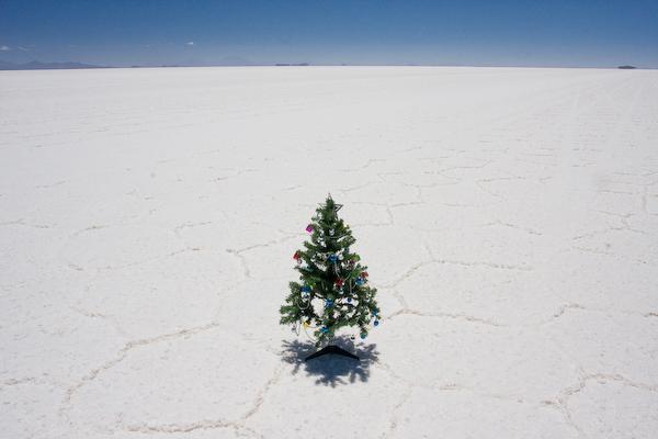 Christmas on the salt flats