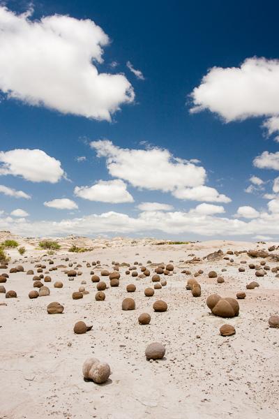 The mini-boulder field