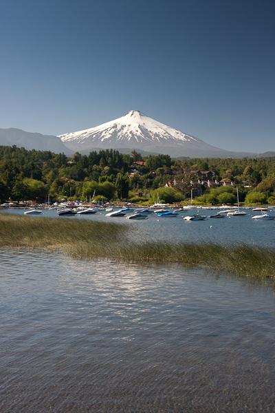 Looking to Volcan Villarreca in the morning