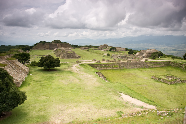 The Monte Albán ruins