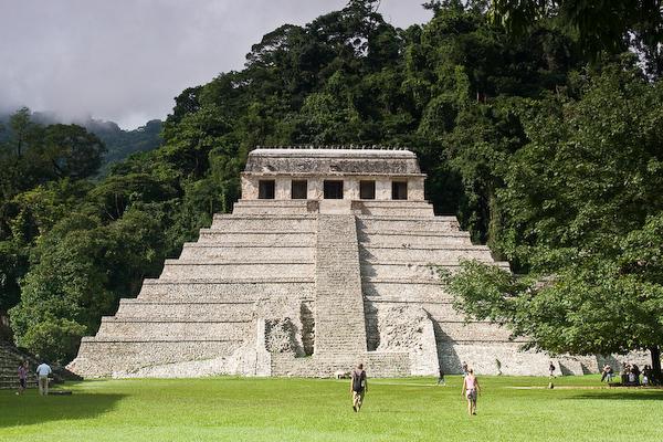 The Templo de las Inscriptiones