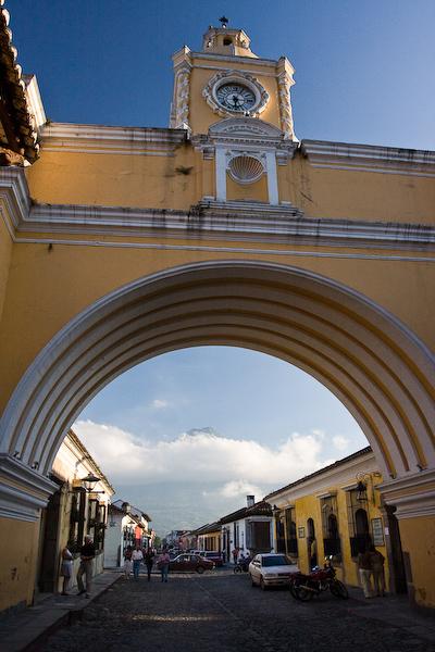 Santa Catalina Arch.