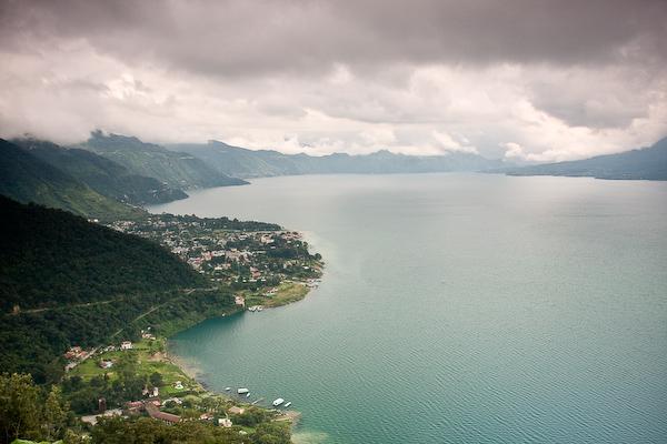 Lago de Atitlán.
