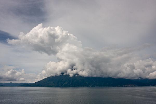 Volcán San Pedro from La Casa Del Mundo.